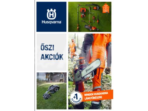 Husqvarna őszi akció katalógus 2020.